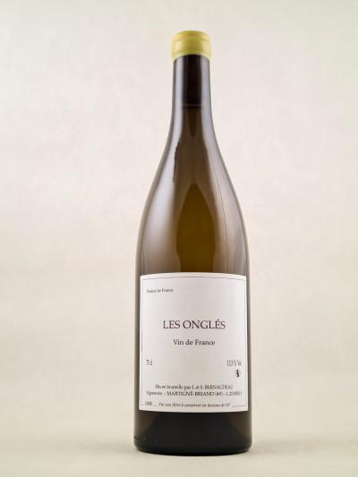 """Bernaudeau - Vin de France """"Les Onglés"""" 2018"""