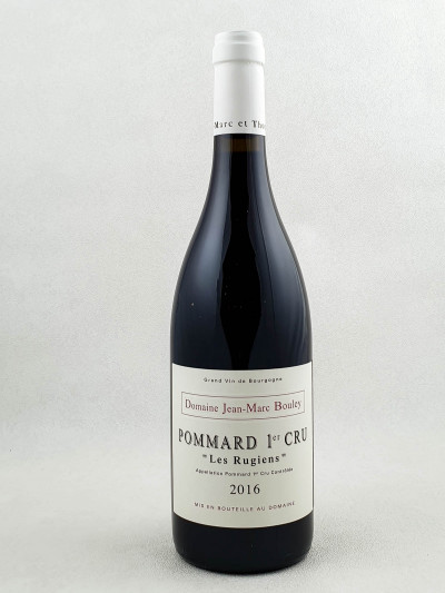 "Jean Marc Bouley - Pommard 1er cru ""Rugiens"" 2016"