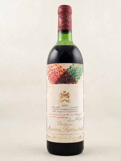 Mouton Rothschild - Pauillac 1979