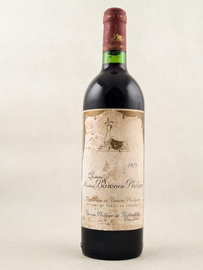Mouton Baronne Philippe ( d'Armailhac ) - Pauillac 1975