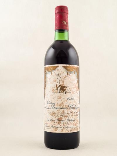 Mouton Baronne Philippe ( d'Armailhac ) - Pauillac 1980
