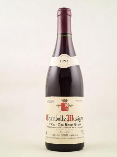 "Denis Mortet - Chambolle Musigny 1er cru ""Aux Beaux Bruns"" 1993"