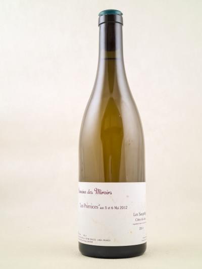 """Domaine des Miroirs K.Kagami - Vin de France Les Saugettes """"Les Prémices"""" 2011"""