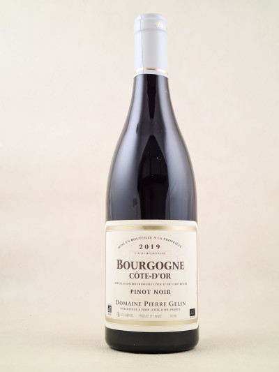 Pierre Gelin - Bourgogne Pinot Noir 2019