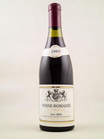 Jean Gros - Vosne Romanée 1989