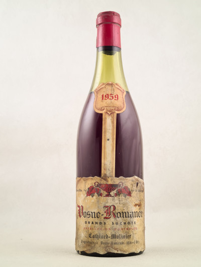 """Cathiard - Vosne Romanée 1er Cru """"Grands Suchots"""" 1959"""