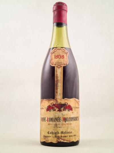 Cathiard - Vosne Romanée Malconsorts 1959