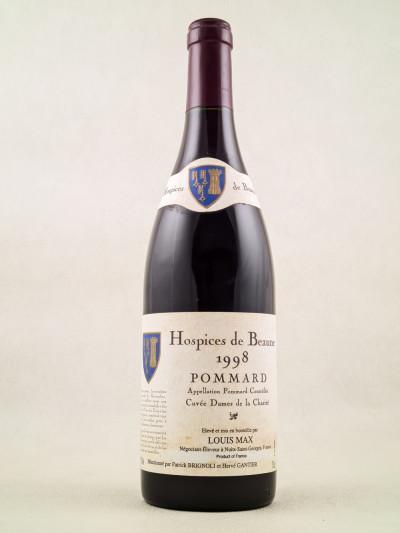 """Louis Max Hospices de Beaune - Pommard """"Cuvée Dames de la Charité"""" 1998"""