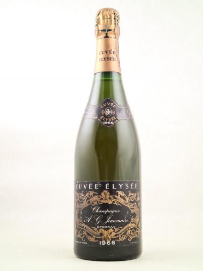 """Jeanmaire - Champagne """"Cuvée Elysée"""" 1966"""