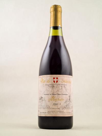 """Prieuré Saint Christophe Michel Grisard - Vin de Savoie """"Mondeuse"""" 1986"""
