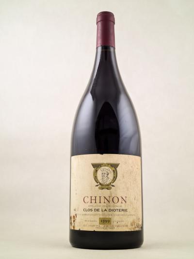 """Charles Joguet - Chinon """"Clos de la Dioterie"""" 1999 MAGNUM"""