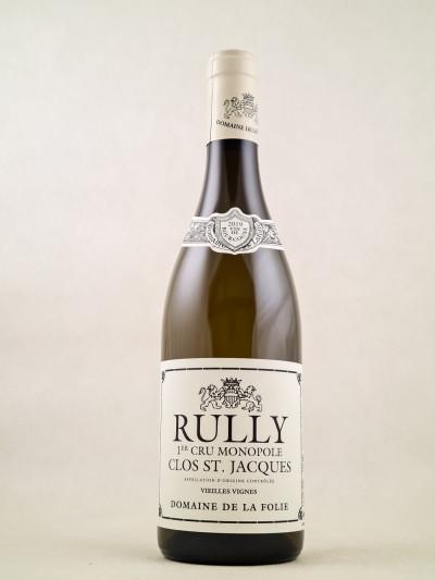 """Domaine de la Folie - Rully 1er cru """"Clos St. Jacques"""" 2019"""