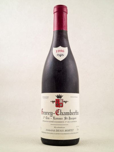 "Denis Mortet - Gevrey Chambertin 1er cru ""Lavaux Saint Jacques"" 1996"