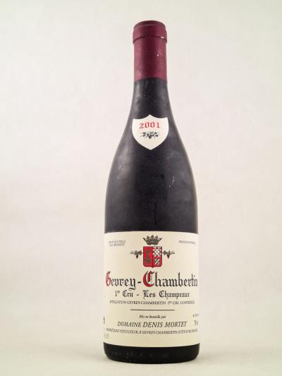 "Denis Mortet - Gevrey Chambertin ""En Derée - Vieilles Vignes"" 2001"