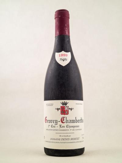 "Denis Mortet - Gevrey Chambertin 1er Cru ""Les Champeaux"" 1999"