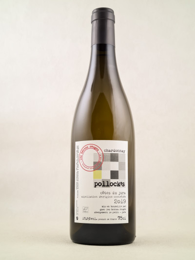 """Les Bottes Rouges - Côtes du Jura Chardonnay """"Pollock's"""" 2019"""