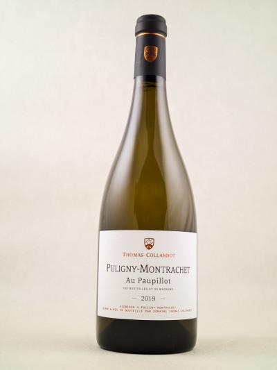 "Thomas-Collardot - Pulligny Montrachet ""Au Paupillot"" 2019"