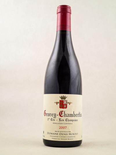 "Denis Mortet - Gevrey Chambertin 1er Cru ""Les Champeaux"" 2007"
