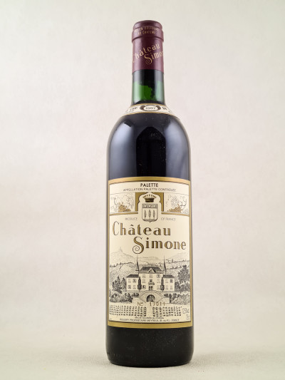 Château Simone - Palette Famille Rougier 1997