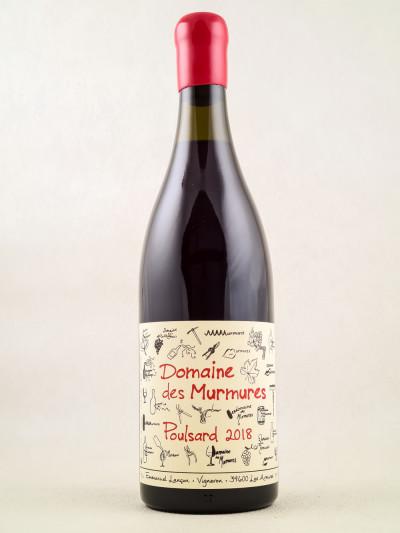 """Domaine des Murmures - Vin de France """"Poulsard"""" 2018"""