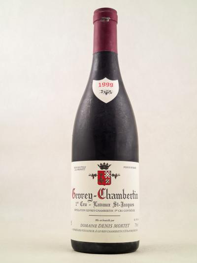 "Denis Mortet - Gevrey Chambertin 1er cru ""Lavaux Saint Jacques"" 1999"