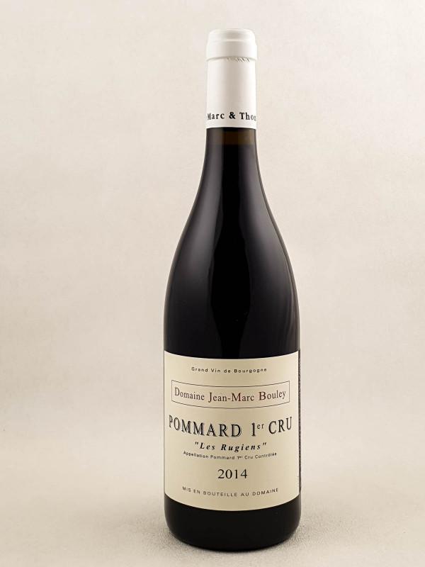 "Jean Marc Bouley - Pommard 1er cru ""Rugiens"" 2014"