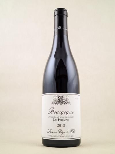 """Simon Bize - Bourgogne """"Les Perrières"""" 2018"""
