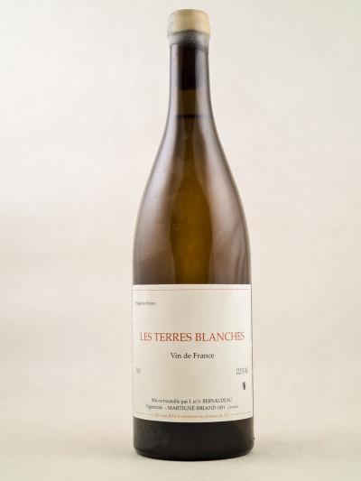 """Bernaudeau - Vin de France """"Les Terres Blanches"""" 2013"""
