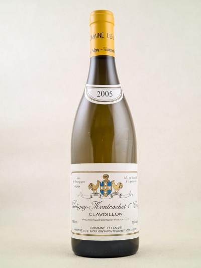 "Leflaive - Puligny Montrachet 1er cru ""Clavoillon"" 2005"