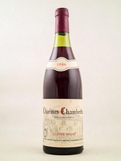 Claude Dugat - Charmes Chambertin 1986