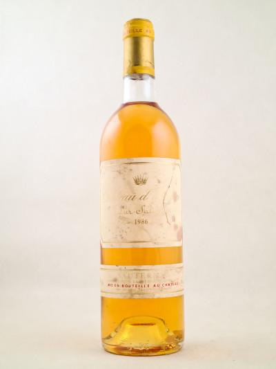 Yquem - Sauternes 1986