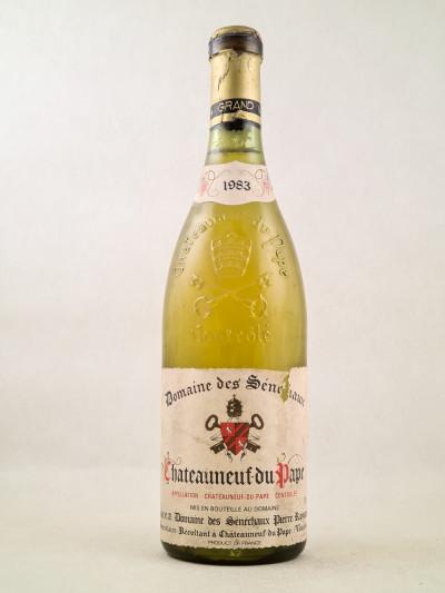 Sénéchaux - Châteauneuf du Pape blanc 1983