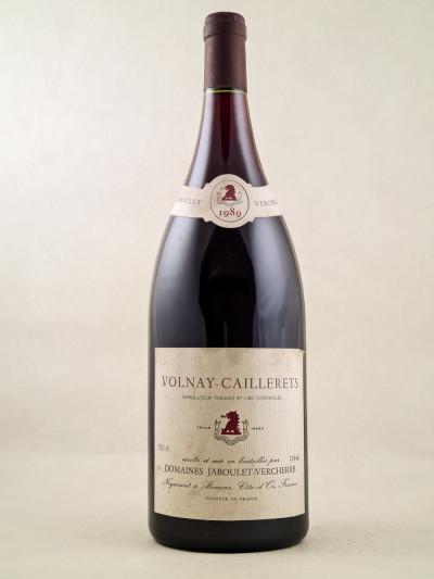 """Jaboulet Vercherre - Volnay 1er Cru """"Caillerets"""" 1989 MAGNUM"""