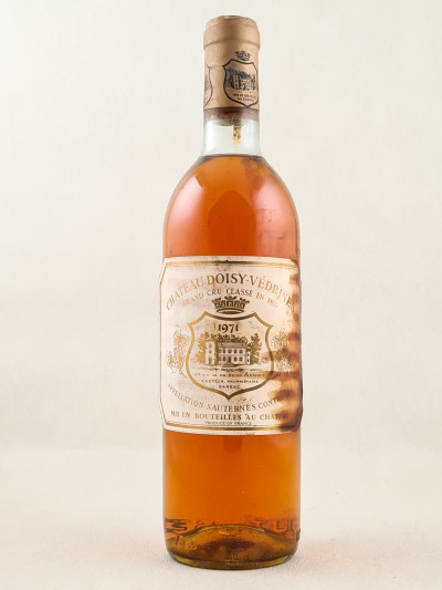 Doisy Védrines - Sauternes 1971