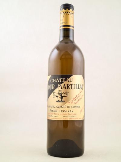 Latour Martillac Blanc - Pessac Léognan 1990