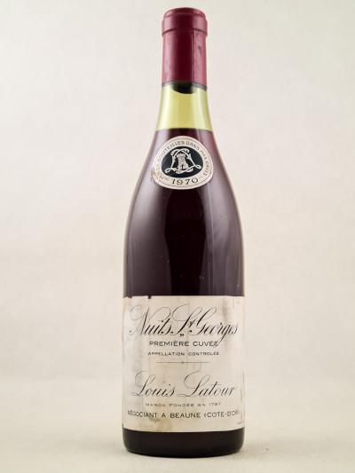 Louis Latour - Nuits Saint Georges 1970