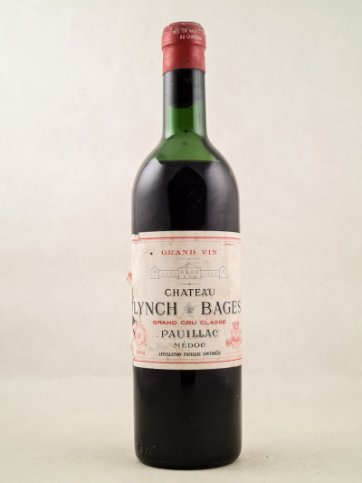Lynch Bages - Pauillac 1964