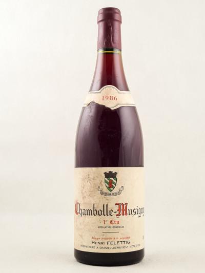 Felettig - Chambolle Musigny 1er Cru 1986