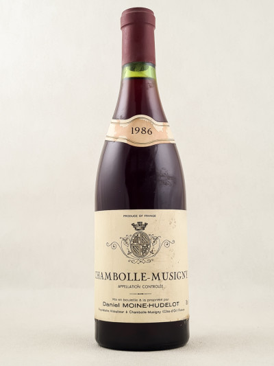 Moine Hudelot - Chambolle Musigny 1986