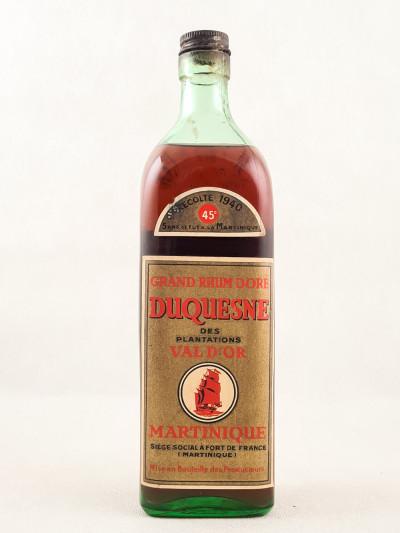 Duquesne - Rhum Plantations Val d'Or 1940 45°