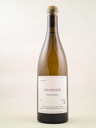 """Bernaudeau - Vin de France """"Les Onglés"""" 2016"""
