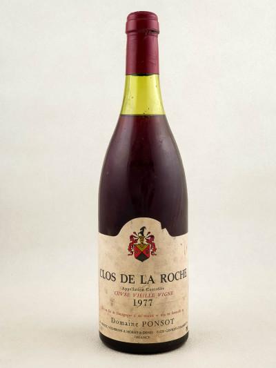 Ponsot - Clos de la Roche 1977