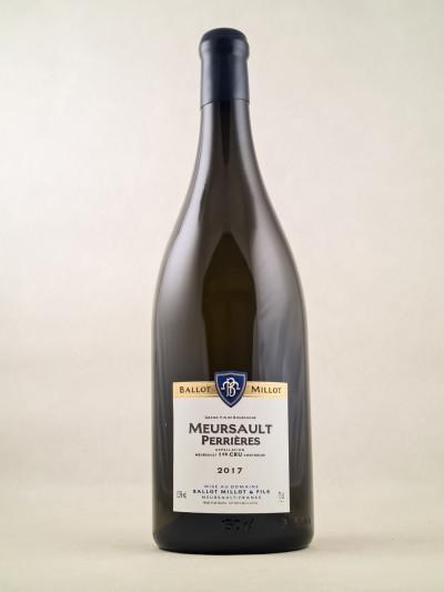 """Ballot-Millot - Meursault 1er cru """"Perrières"""" 2017 MAGNUM"""