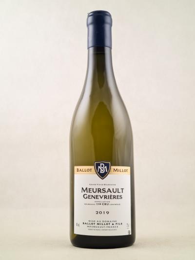 "Ballot-Millot - Meursault 1er cru ""Genevrières"" 2019"