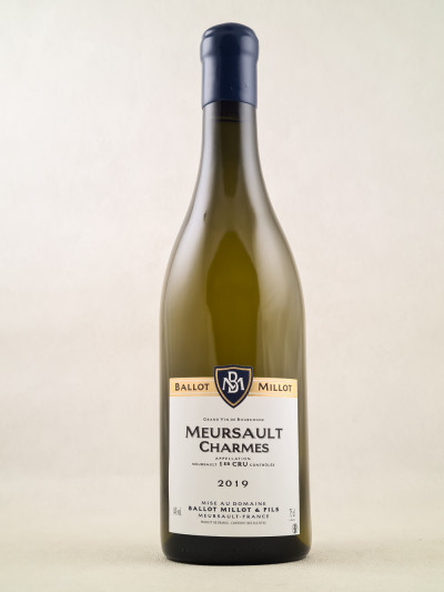 "Ballot-Millot - Meursault 1er cru ""Charmes"" 2019"