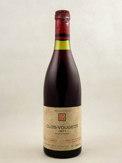 René Engel - Clos Vougeot 1971 PHOTO
