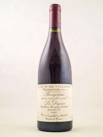 """De Villaine - Bourgogne """"La Digoine"""" 1995 ( Vinifié par Aubert De Villaine )"""