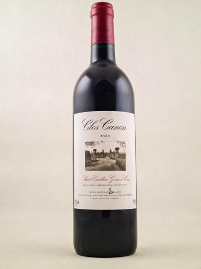 Clos Canon - Saint Emilion 2000
