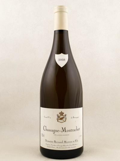 Bernard Moreau - Chassagne Montrachet 2008 MAGNUM