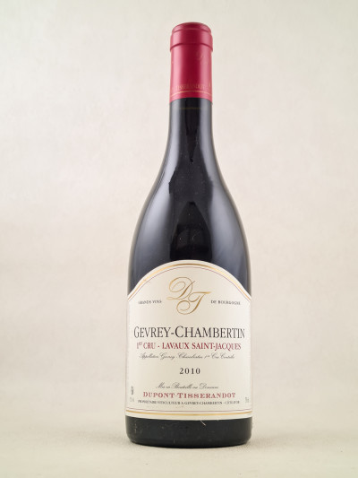 "Dupont-Tisserandot - Gevrey Chambertin 1er cru ""Lavaux St Jacques"" 2010"